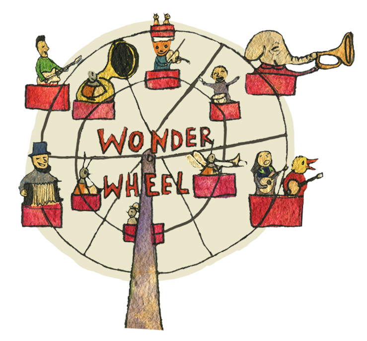 "Take a ride on Dan Zanes' ""Wonder Wheel!"""